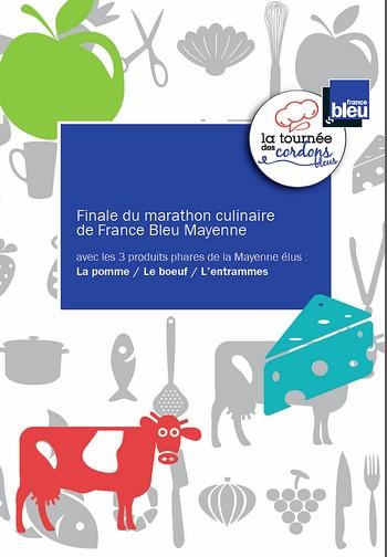 Finale du marathon culinaire de  France Bleu Mayenne