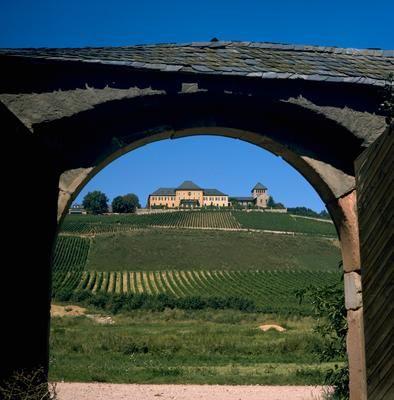Schloss Johannisberg est l'un des plus connus Domaines, historiquement importants en Allemagne