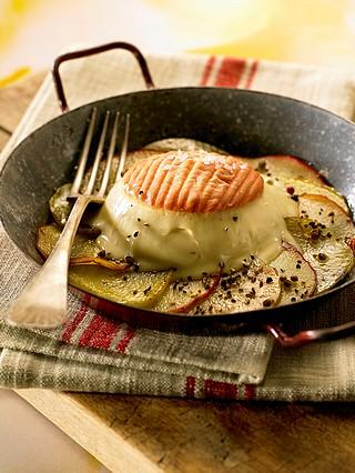 Epoisses Berthaut sur galette de pommes de terre