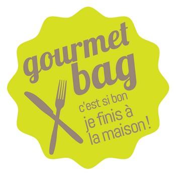 Lancement du Gourmet bag, le doggy bag à la française
