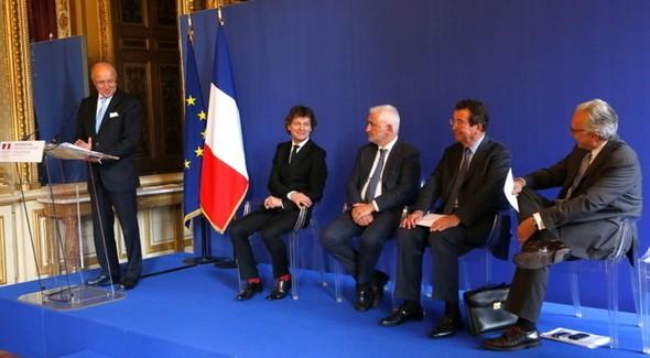 Fabius chef de la gastro-diplomatie française