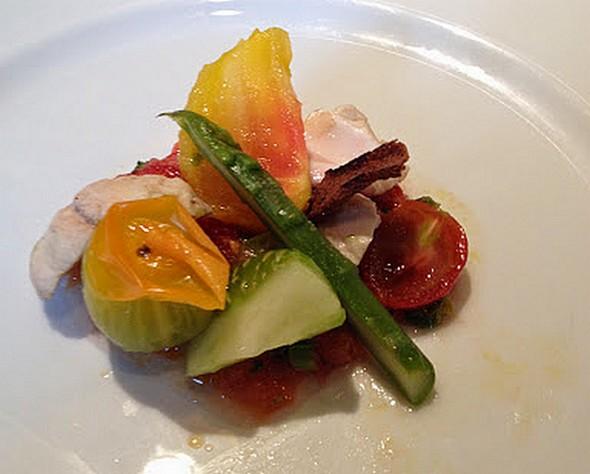 la salade du lauréat ©DR