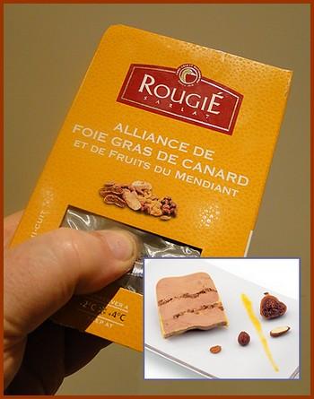 La Radio du Goût a aimé: le Mi-cuit de foie gras Rougié aux fruits du mendiant