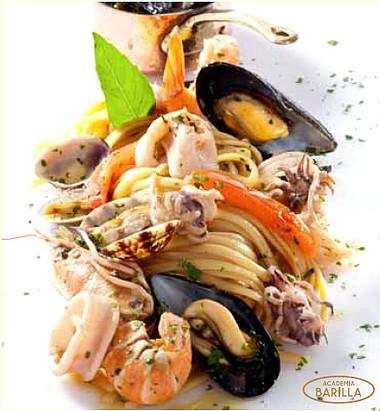 Linguine Academia Barilla© aux fruits de mer