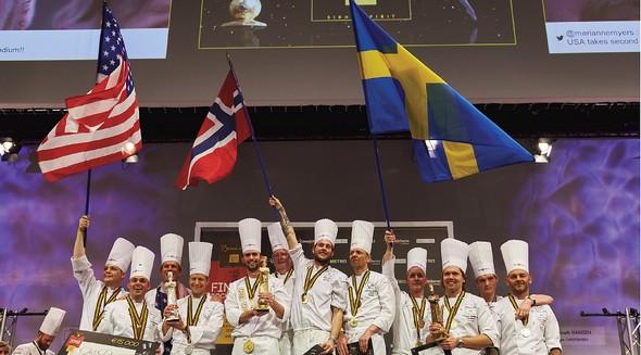 La Norvège Bocuse d'or 2015