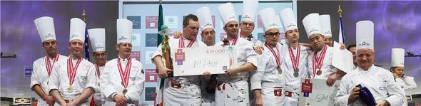 L'Italie remporte la Coupe du Monde de la Pâtisserie 2015