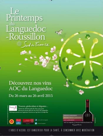 Les vins du Languedoc-Roussillon font leur show de Printemps