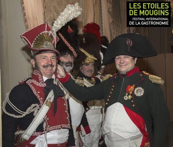 Les Etoiles de Mougins à l'heure Napoléonienne