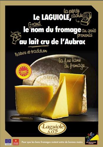Le Laguiole chez les Fromagers de France