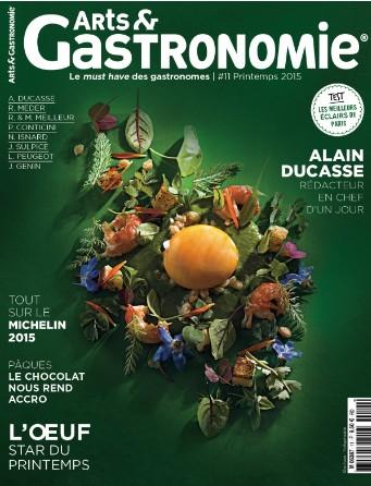 Le magazine Arts & Gastronomie est en kiosque