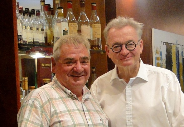 Jean Luc et Thierry à Cahors en 2015 ©laradiodugout.fr