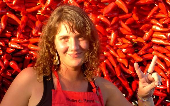 La Fête du Piment, chaque année en octobre, à Espelette ©DR