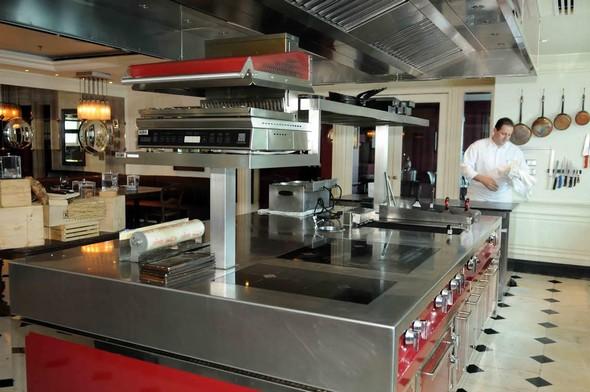 la cuisine dans l'appart © Jean Claude Boudet