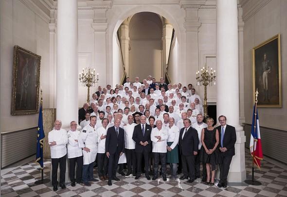 La photo du Diner des Grands Chefs