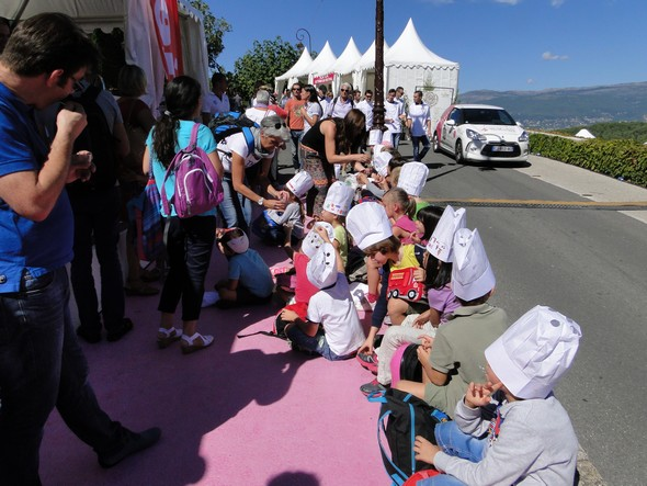 les enfants de Mougins à l'école du goût/TB/laradiodugout.fr