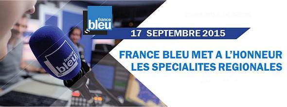 France Bleu: journée spécialités régionales