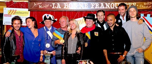 La République de Montmartre fête  les vendanges avec panache