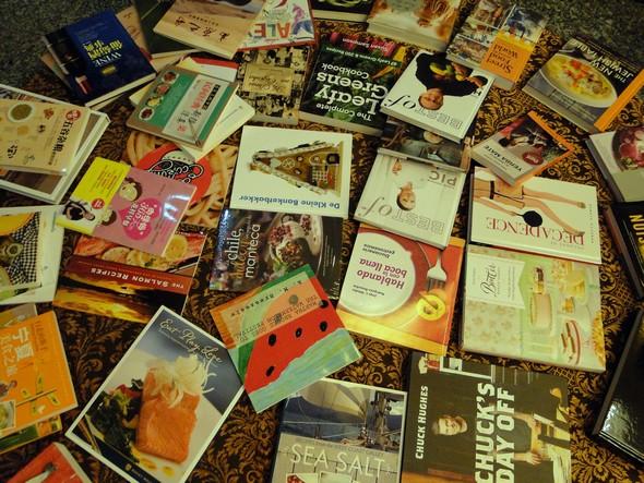 des livres qui font recette ©TB/laradiodugout.fr