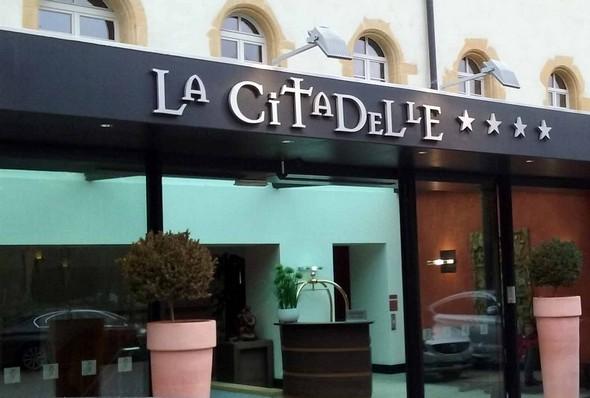 l'entrée de La Citadelle ©GC/laradiodugout.fr