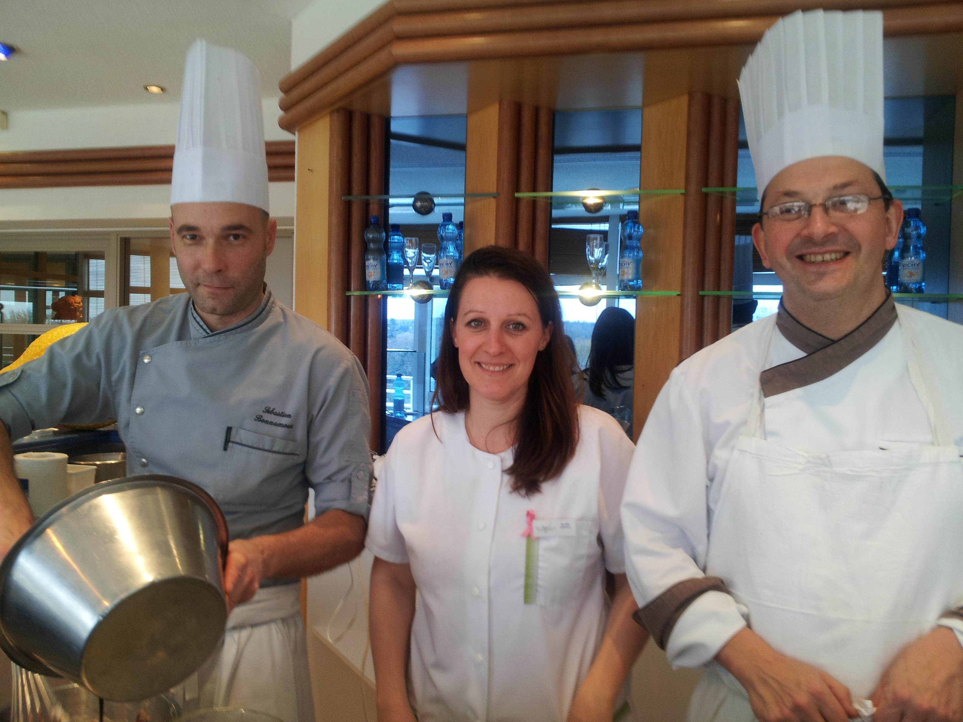 de gauche à droite: Sébastien Bonnamour, Aurélie Bodin et Christophe Vauthier © IM/laradiodugout.fr