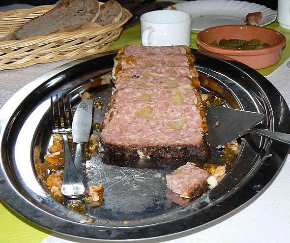 pâté truffé à la pomme ©GC/laradiodugout.fr