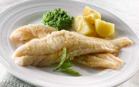 roast-fish-with-minted-pea-puree