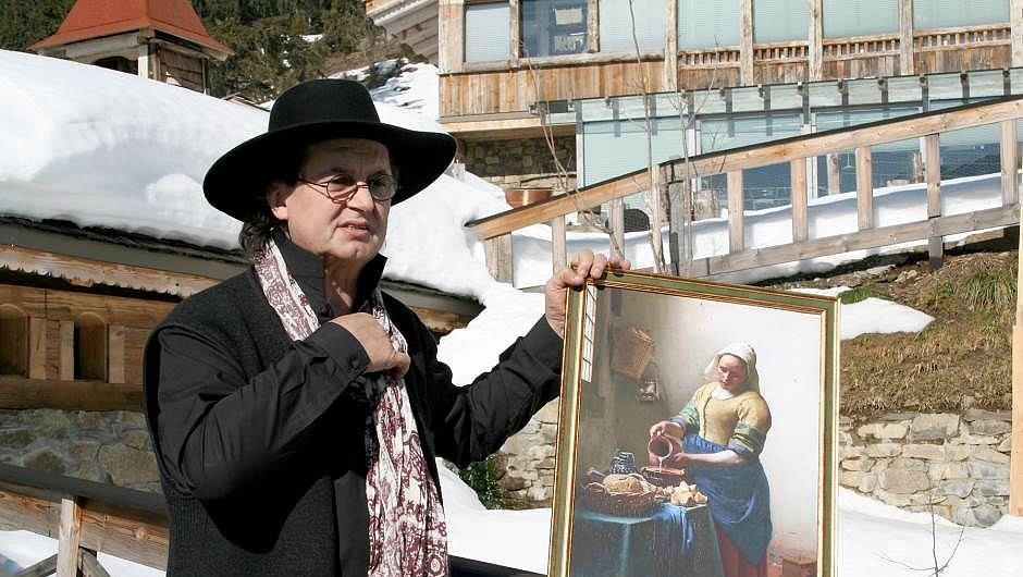 Marc Veyrat et la laitière de Vermeer