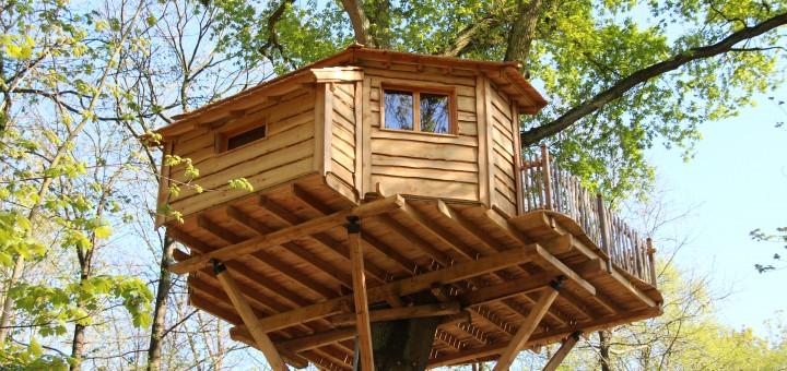 La cabane des Grands chênes, dans l'Oise ©CRT Picardi, Photo AS Clément