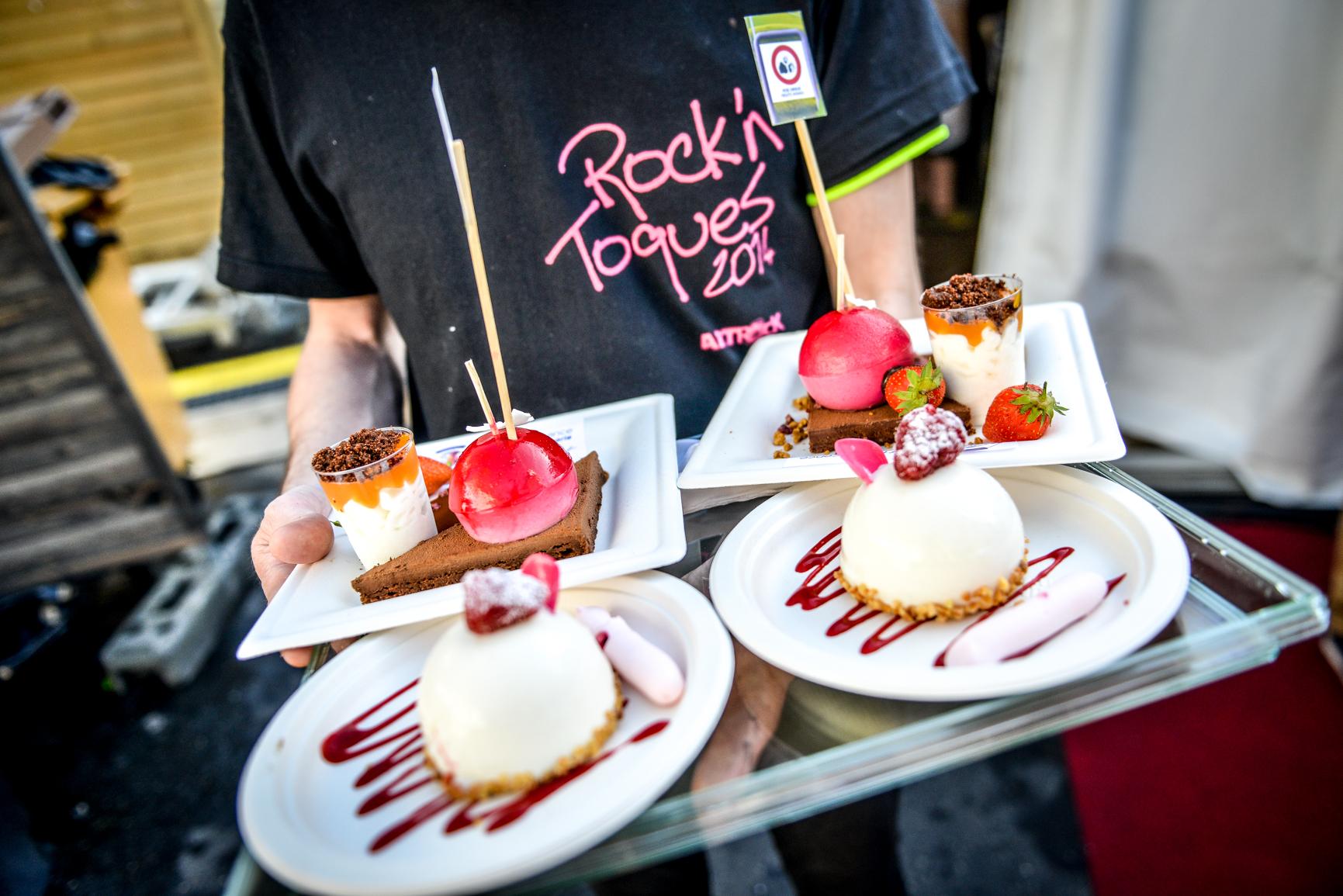 Rock'n Toques -dessert sur un playeau -®Olivier MARIE-94-2