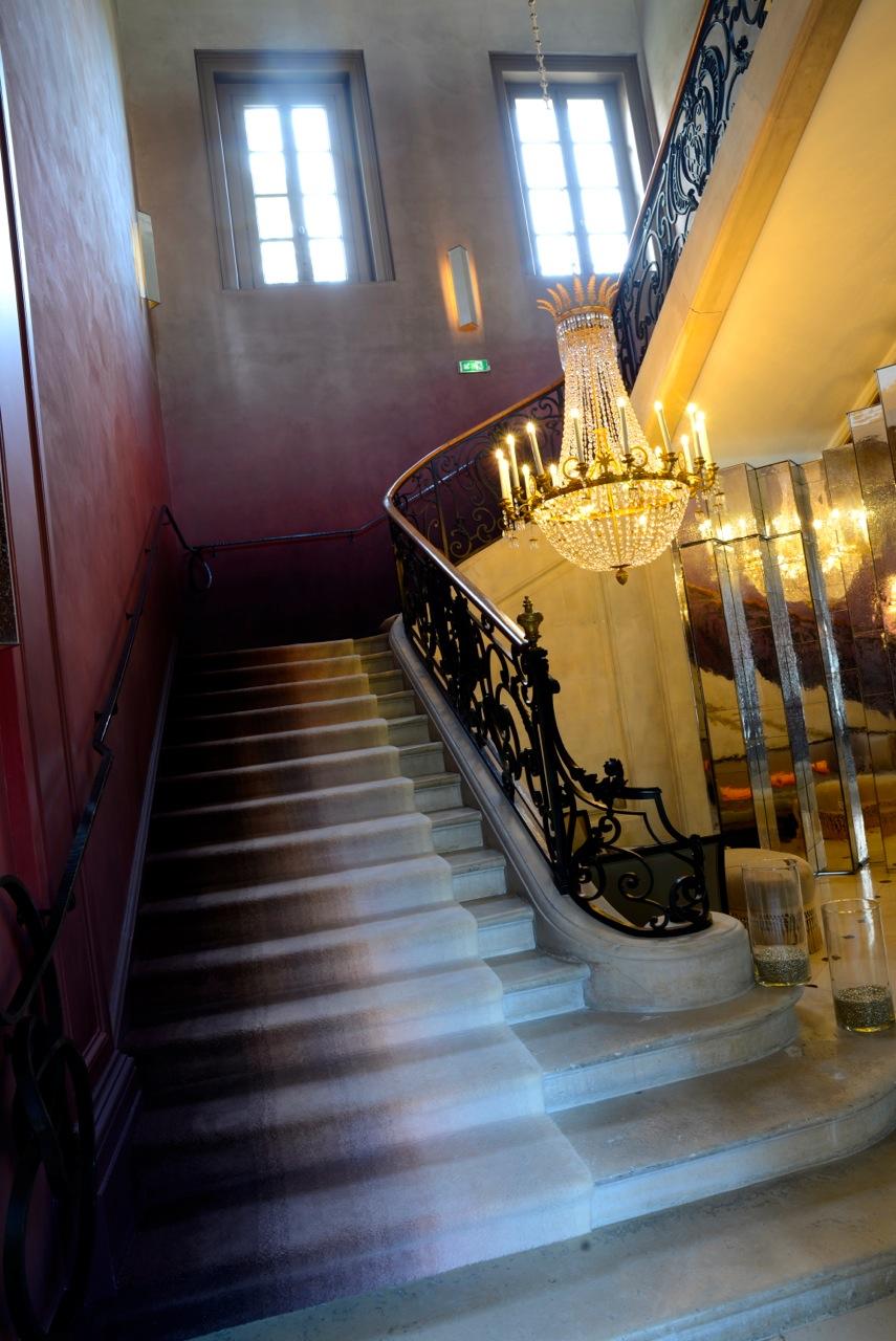 escalier de l'hotel du Marc