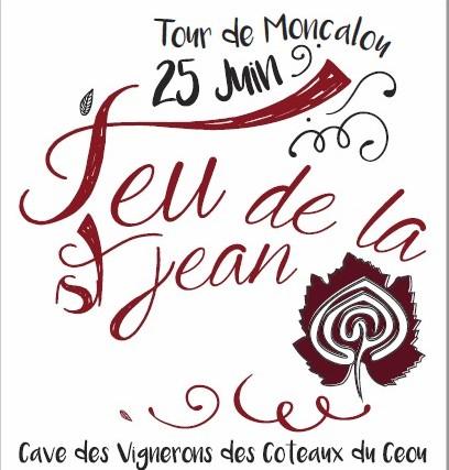 FEU DE LA SAINT-JEAN (TOUR DE MONCALOU-DORDOGNE )