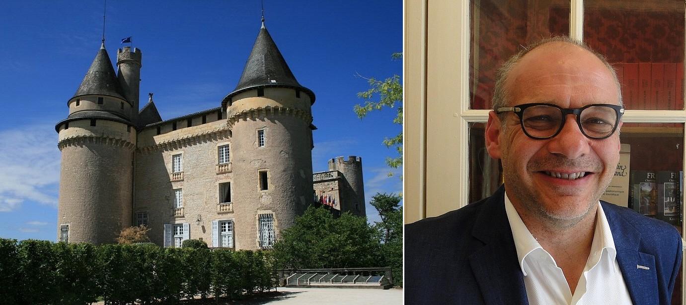 Bertrand-Gabriel Vigouroux en son château