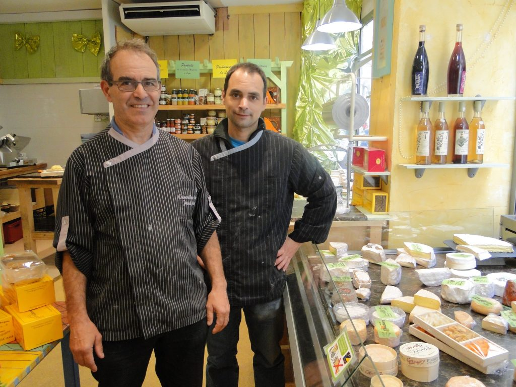 Patrick et Damien Marty fromagers Cahors