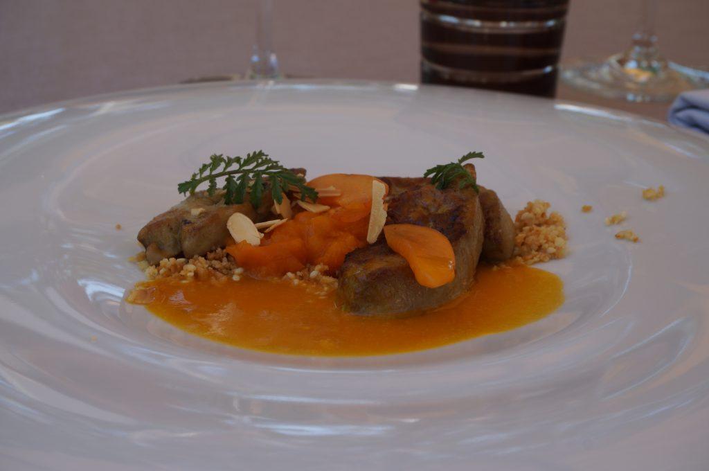 foie gras abricots