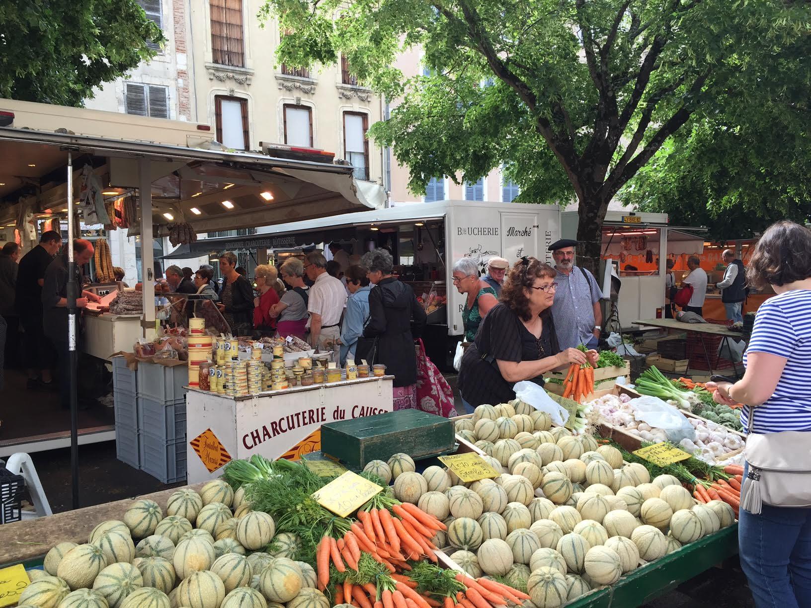 fruits et légumes du Causse - marché de Cahors