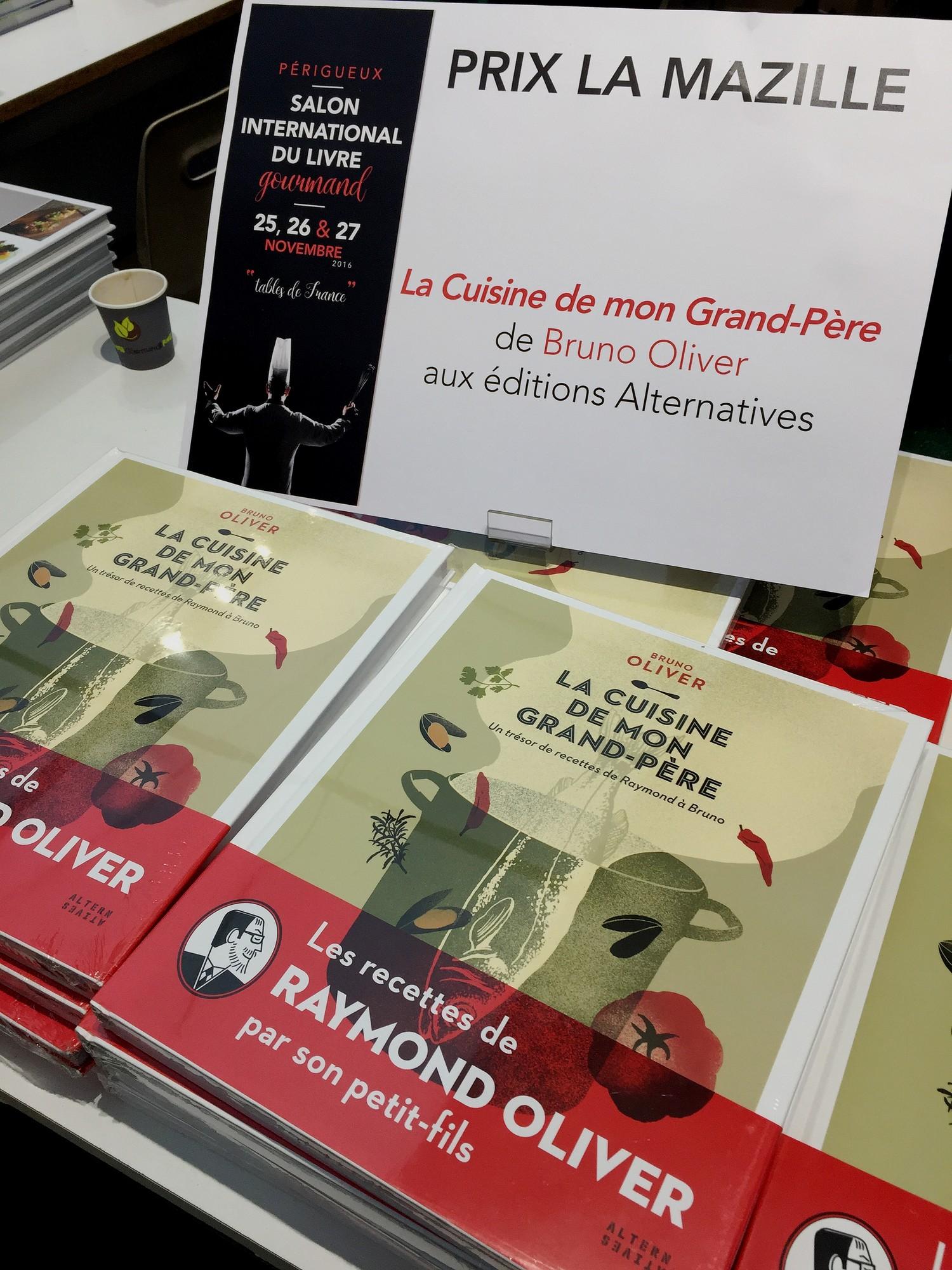 Camille labro et bruno oliver sacr s au salon du livre - Salon du livre gourmand ...