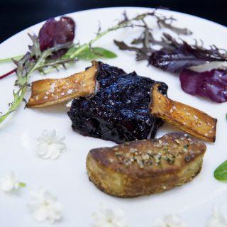 30 - Les Myrtilles du Chili au Cordon Bleu - foie gras