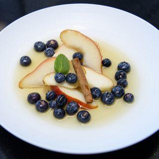33 - Les Myrtilles du Chili au Cordon Bleu - dessert