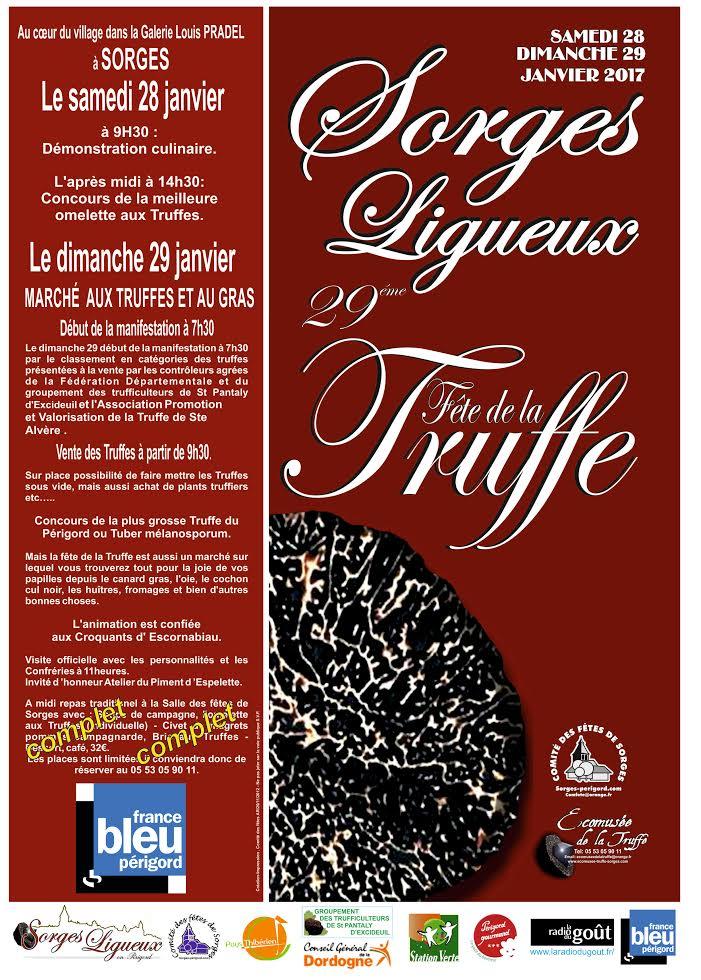 FÊTE DE LA TRUFFE - Sorges- Dordogne