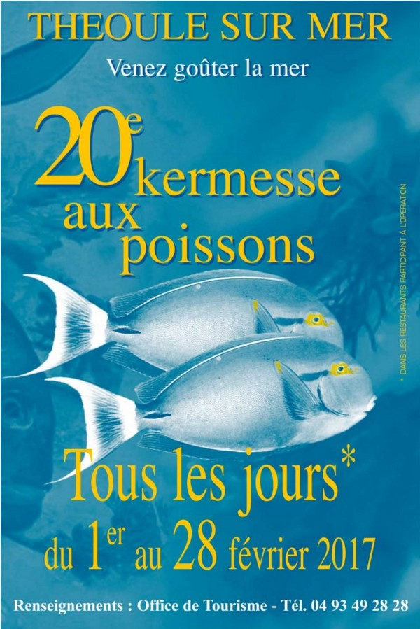 KERMESSE AUX POISSONS - Théoule sur Mer
