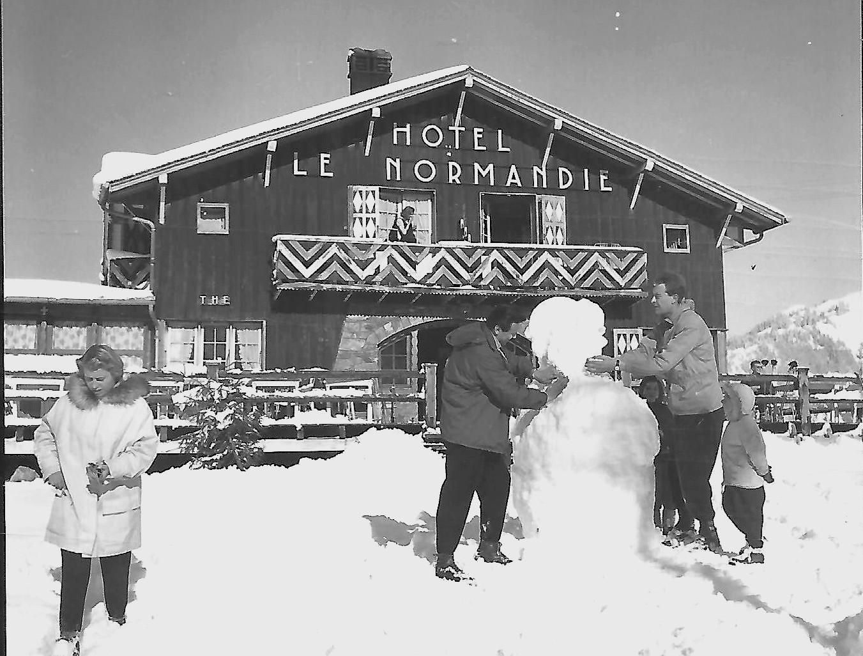 bonhomme de neige normandie