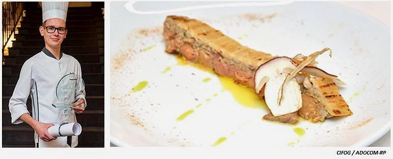 léo daull et sa tarte renversée au foie gras