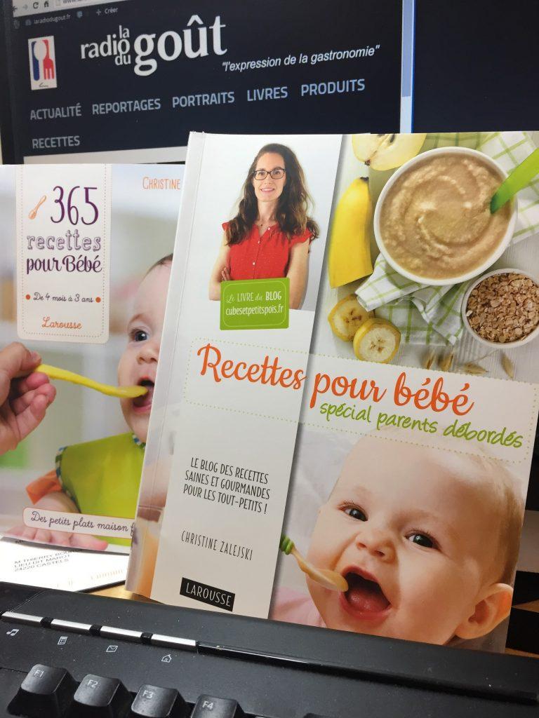 recettes bébé 1500