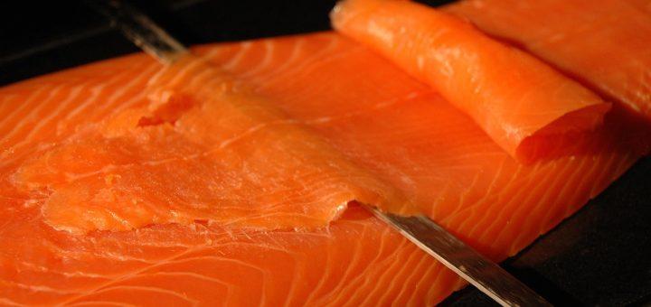 saumon fumé home