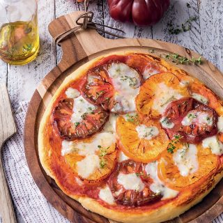 pizza tomates fraiches