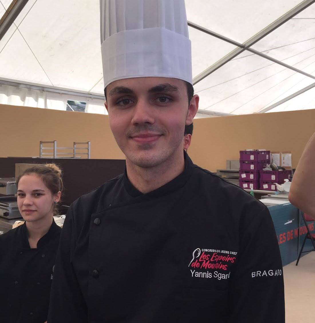 SGARD Yannis jeune chef mougins 2017
