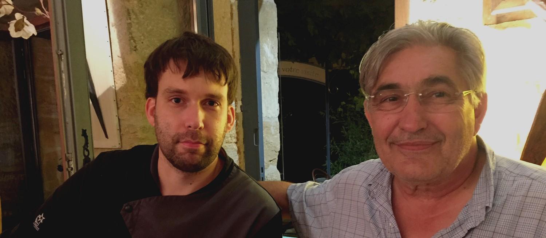 Alain Lespinasse (à droite) et Florent Pocris