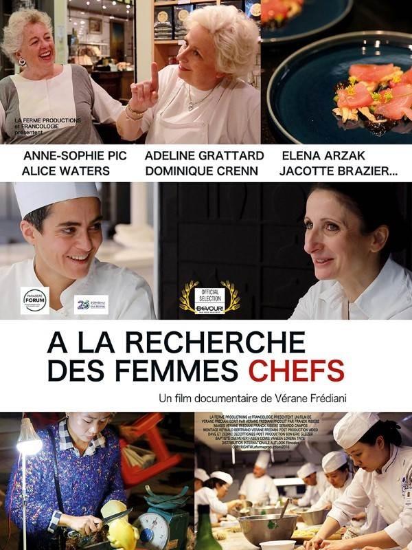 A la recherche des femmes chefs, Affiche