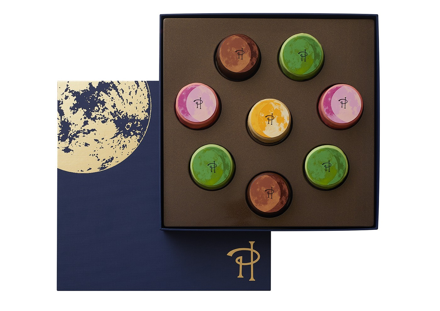 8 pieces hermé Mooncakes