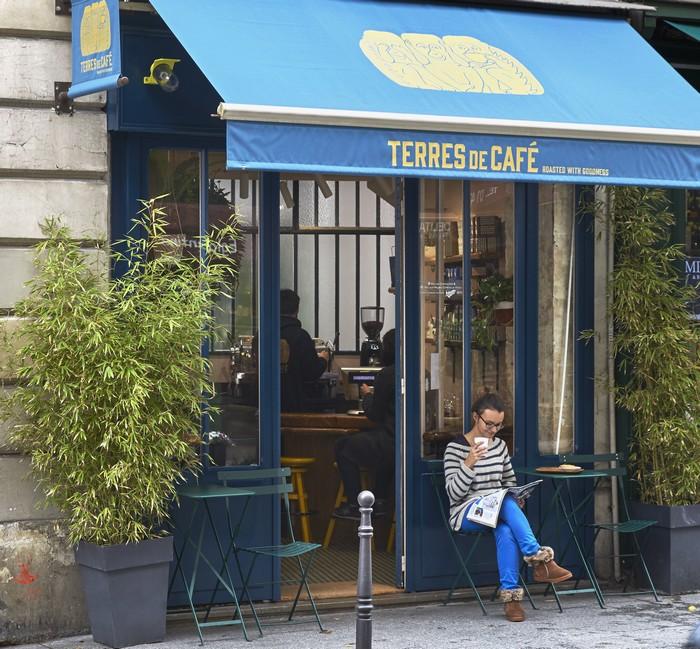 Terres de cafés rue des blancs manteaux 700
